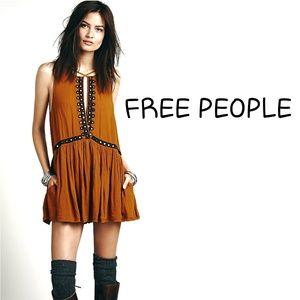 FREE PEOPLE Free Bird romper w pockets Small